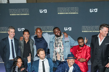 Kyle Long Premiere Of USA Network's 'Unsolved: The Murders Of Tupac And The Notorious B.I.G.'