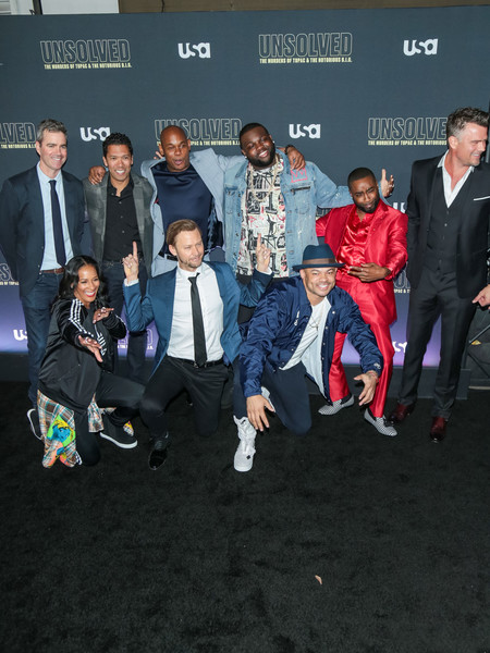 Premiere Of USA Network's 'Unsolved: The Murders Of Tupac And The Notorious B.I.G.'