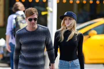 Kyle Newman Jaime King Spotted in NYC