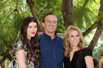 Kyra Kennedy Cheryl Hines Honored on the Walk of Fame