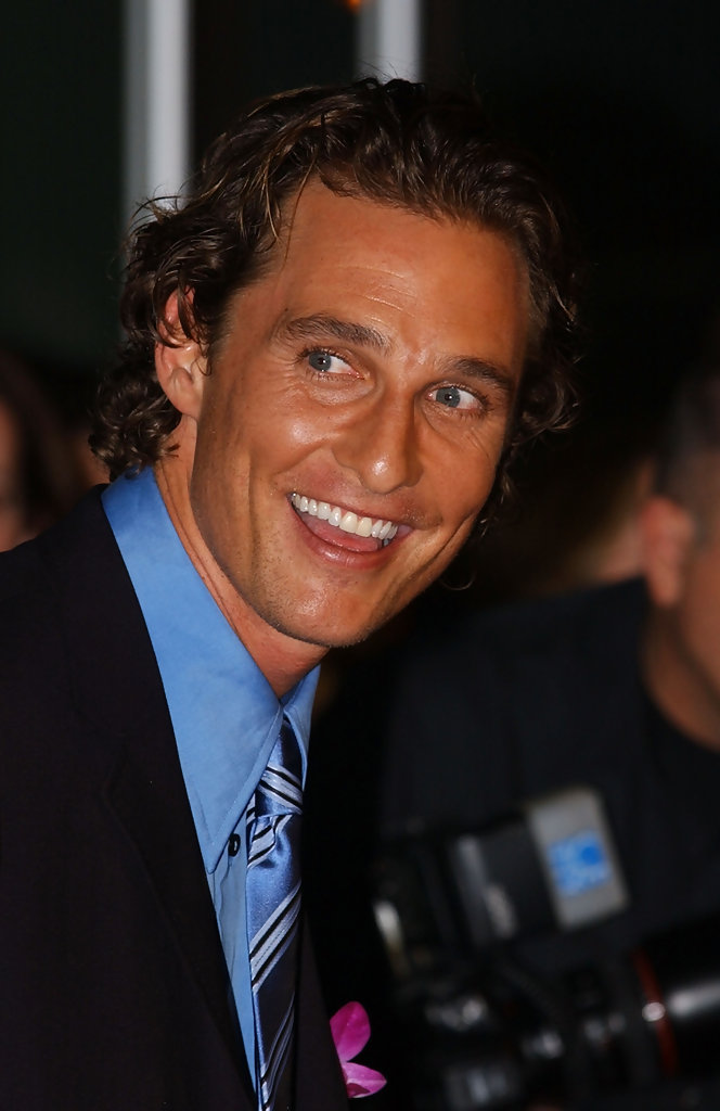 matthew mcconaughey in la premiere of quothow to lose a guy