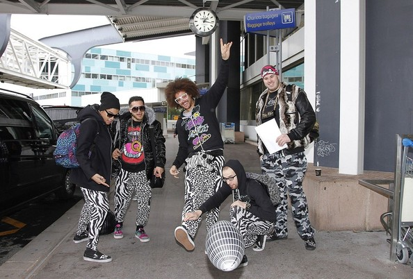 LMFAO Rocks the Airport
