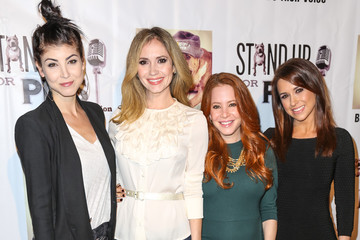 Lacey Chabert Celebrities Attend the Stand Up For Pits Comedy Benefit