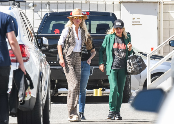 Laeticia Hallyday Out In L.A.