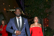 Lance Gross and Rebecca Gross outside Avenue Nightclub
