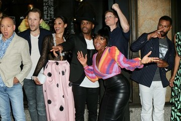 Larenz Tate Joseph Sikora The Cast Of 'Power' At Saks Fifth Ave NYC