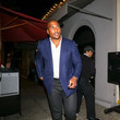 Larry English Larry English Outside Craig's Restaurant In West Hollywood
