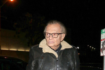 Larry King Larry King Outside Craig's Restaurant