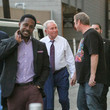Lee Corso Kirk Herbstreit and Desmond Howard at 'Jimmy Kimmel Live'
