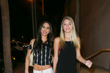 Leila Knight Celebrities Are Seen at Catch Restaurant in West Hollywood