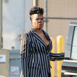 Leslie Jones Leslie Jones At 'Jimmy Kimmel Live'