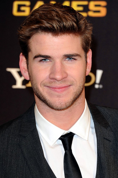 Liam Hemsworth 'The Hunger Games' premieres at the O2 Arena.