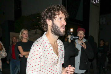 Lil Dicky Lil Dicky Outside Poppy Nightclub In West Hollywood