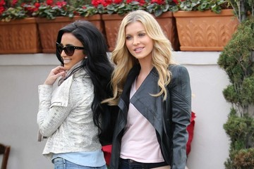 Lilly Ghalichi Joanna Krupa and Lilly Ghalichi Go to Lunch in Beverly Hills