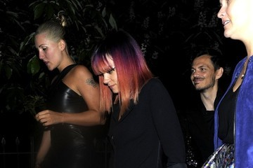 Lily Allen Stars Come Out for the Serpentine Gallery Party