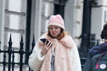 Lily Cole Lily Cole Out in London