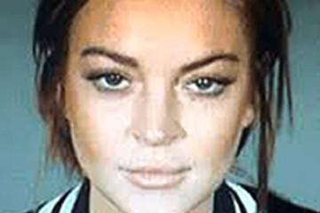 Lindsay Lohan (FILE) Celebrity Mug Shots