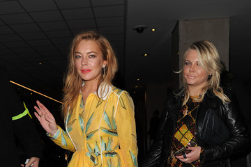 Lindsay Lohan Wonderland Magazine Party at Drama Club