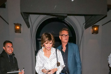Lisa Rinna Lisa Rinna Outside Craig's Restaurant In West Hollywood