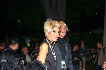 Lisa Rinna Lisa Rinna And Harry Hamlin Are Seen At The Casamigos Halloween Party In Beverly Hills