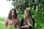 Mischa Barton and new boyfriend, Cisco Adler take a beachfront stroll through some foliage in Hawaii. Mischa plays it cute and demure.  However, Cisco does not leave enough to the imagination, prominently displaying a tattoo of former fiancee Kimberly Stewart's name above his heart.  Will Mischa's name replace Kimberly's or will Cisco find a special place for her?