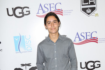 Lorenzo Henrie Celebrities Attend the Luc Robitaille Celebrity Shootout at Toyota Sports Center