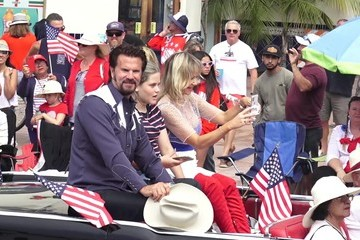 Lorenzo Lamas Lorenzo Lamas Attends A Fourth of July Parade