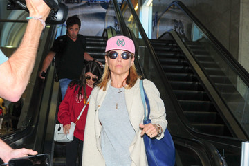 Lori Loughlin Lori Loughlin at LAX