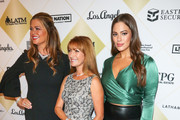 Ashley Graham, Kathy Ireland and Jane Seymour are seen arrives at the Los Angeles Team Mentoring's 20th Annual Soiree at the Fairmont Miramar Hotel in Los Angeles, California.