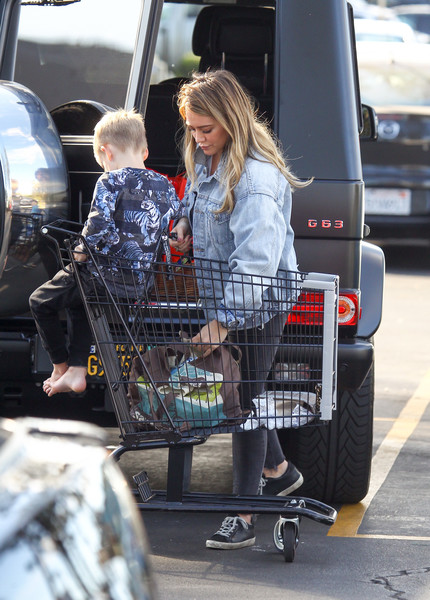 Hilary Duff Is Seen Out With Son Luca