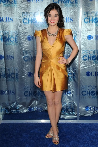 Lucy Hale 2011 People's Choice Awards - Arrivals.Nokia Theatre L.A. Live, Los Angeles, CA.January 5, 2011.