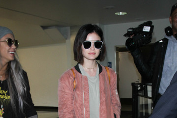 Lucy Hale Lucy Hale Is Seen at LAX