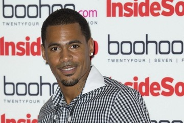 MC Harvey Celebs at the Inside Soap Awards