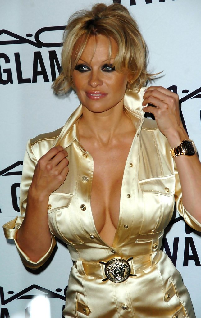 pamela anderson photos photos - mac viva glam