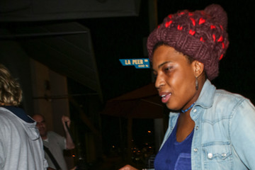 Macy Gray Macy Gray Outside Craig's Restaurant in West Hollywood