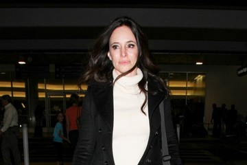 Madeleine Stowe Madeleine Stowe Arrives at LAX