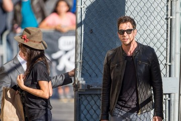 Maggie Q Maggie Q and Dylan McDermott in Hollywood