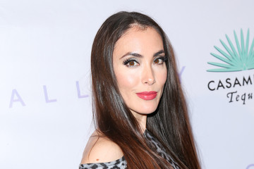Mandy Amano Celebrities Attend Brian Bowen Smith's 'Metallic Life' Exhibition