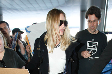 Margot Robbie Margot Robbie Is Seen at LAX