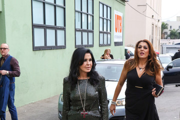 Maria Conchita Alonso Celebrity Sightings Outside the Hollywood Museum Oscar Viewing Party