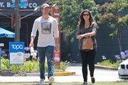 Maria Shriver and Son Patrick Schwarzenegger Get Lunch