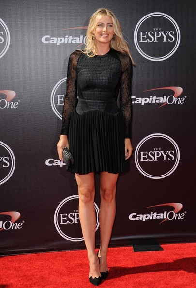 Maria Sharapova - Arrivals at the ESPYS