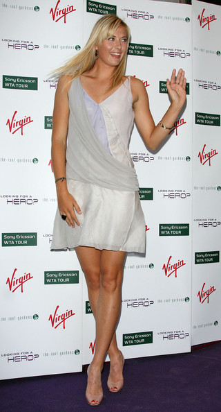 Maria Sharapova - Pre-Wimbledon party in London