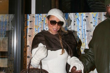 Mariah Carey Mariah Carey Out in Aspen