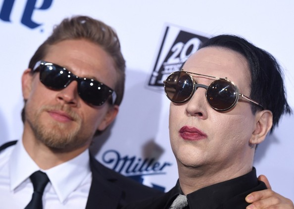 Marilyn Manson Photos Sons Of Anarchy Premiere 301 Of 1108