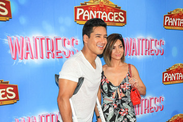 Mario Lopez 'Waitress' Broadway Opening Night