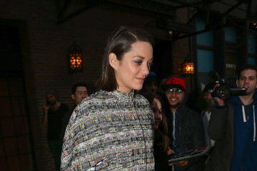 Marion Cotillard Marion Cotillard Hangs out in NYC