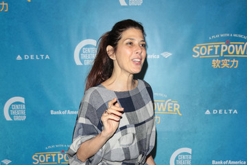 Marisa Tomei Center Theatre Group Presents The Opening Night Of 'Soft Power'