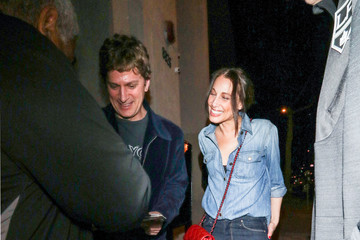 Marisol Maldonado Rob Thomas Outside Craig's Restaurant In West Hollywood