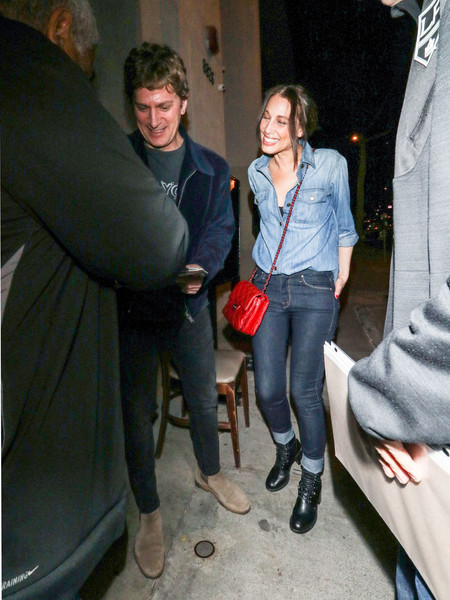 Rob Thomas Outside Craig's Restaurant In West Hollywood